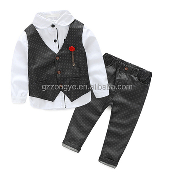 China factory directly OEM service children's clothes sets 2-7 years