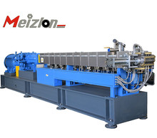 MTE65 parallel co-rotating plastic granules twin screw extruder /mini granulator extruder machine production <strong>line</strong>