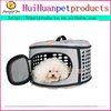 Fashion dog bag foldable canvas pet carrier for dog