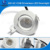 2017 6w 70mm hole size led AC COB driveless downlight with SAA CE ROHS approved for austrial