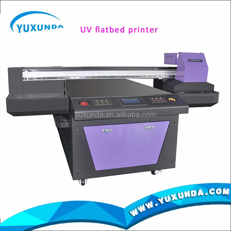 YUXUNDA flatbed digital printer hot UV printing machine with color screen printing