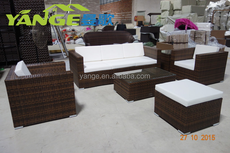 garden set rattan outdoro furniture living room sofas