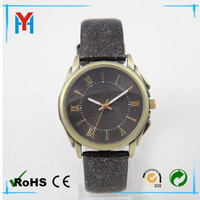 New Arival Fashion vintage leather quartz watch relojes for men