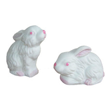 Ceramic Easter Cute Rabbit Salt and Pepper Shaker