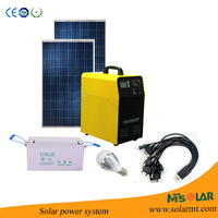 1KW Solar Home System/Solar Power Generator/Solar System Lighting For Home solar pump set
