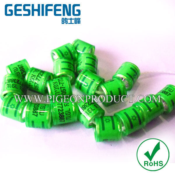 poultry pigeon tracking benzing pigeon ring high quality pigeon ring chip in New brand
