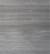 Customized grey wooden vein marble cost of marble countertops