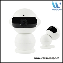 Smart home security mini robot ip camera hd wifi ip camera wireless remote control mini wifi camera