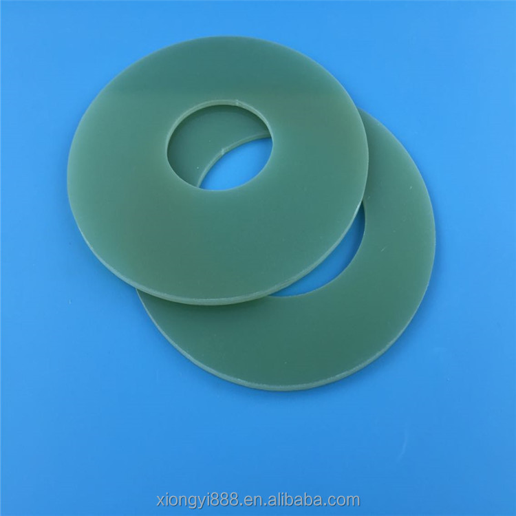 High quality custom insulation plastic FR4 G10 G11 epoxy glass fiber glat washer