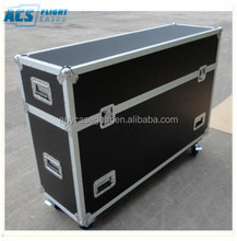 "46"" plasma cases--- NEC X461UN case, each hold two plasmas,with casters and storage"