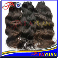 100% top quality virgin mongolian natural wave hair remy wet and wavy hair