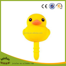 OEM 3.5CM phone plug, Custom pvc mobile phone dust plug,Custom anti dust plug factory