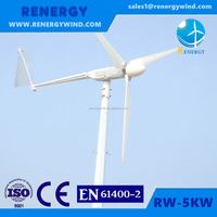 20kw small wind turbine portable wind energy system for home use