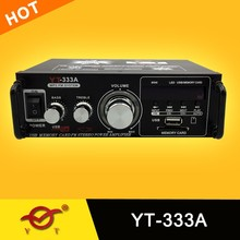 professional power amplifier component YT-333A support usb/sd/fm
