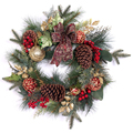 advent wreath foam decorating wreath ring holly wreath