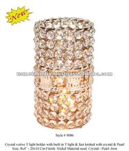 Crystal Votive T-Light Holder