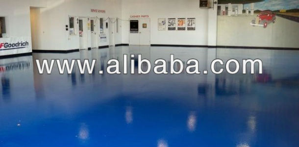 5500 Polyurea Aspartic High Gloss Aliphatic Floor Roll Down Coating - Waterproof, Flexible, Chemical Resistant, Decorative
