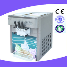 China wholesale 2+1 mixed flavor continuous ice cream maker