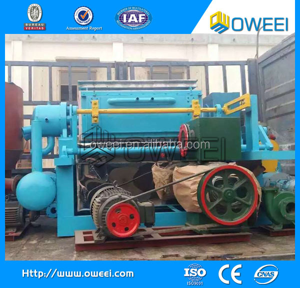 small paper pulp molding machine for egg tray