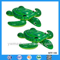 Hot sale inflatable animal rider, inflatable sea turtle animal floats, animal float rider
