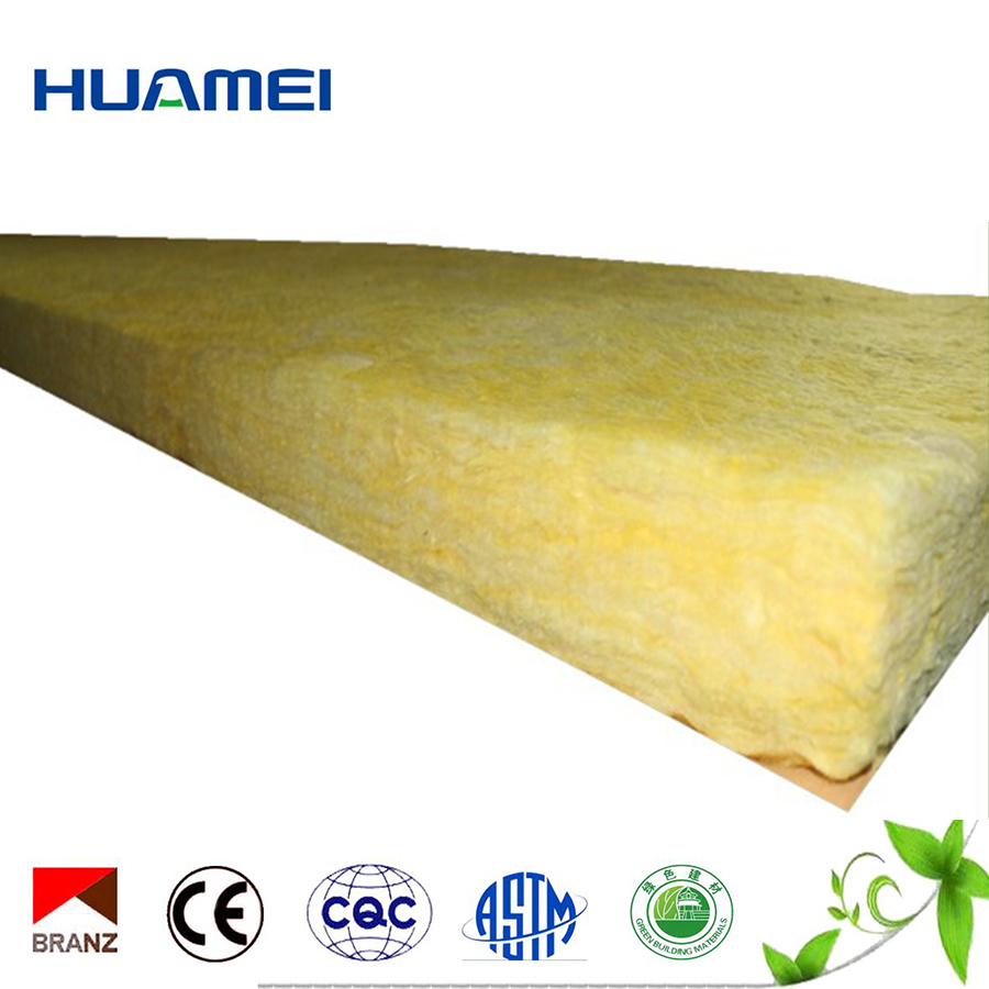 Cheap thin fiber glass sheets roof insulation roll made in china