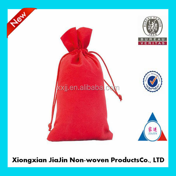 China custom cheap promotion bags cotton drawstring bags