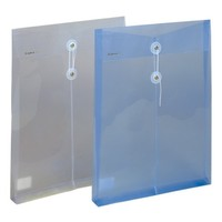 high quality Manufacturing Clear plastic PP A4 envelope file folder