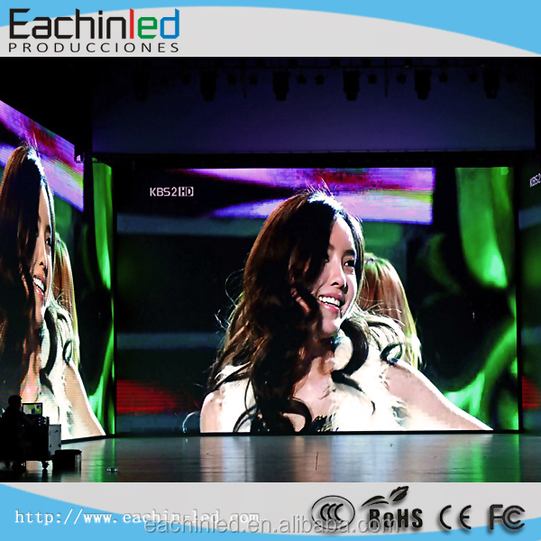 SMD Full Color P3.9 Indoor LED Stage Screen Rental LED Video Wall Price