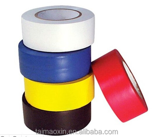 Hot Sale Waterproof PVC Vinyl Safety Stripes Tape Hazard Warning Conformable Tape