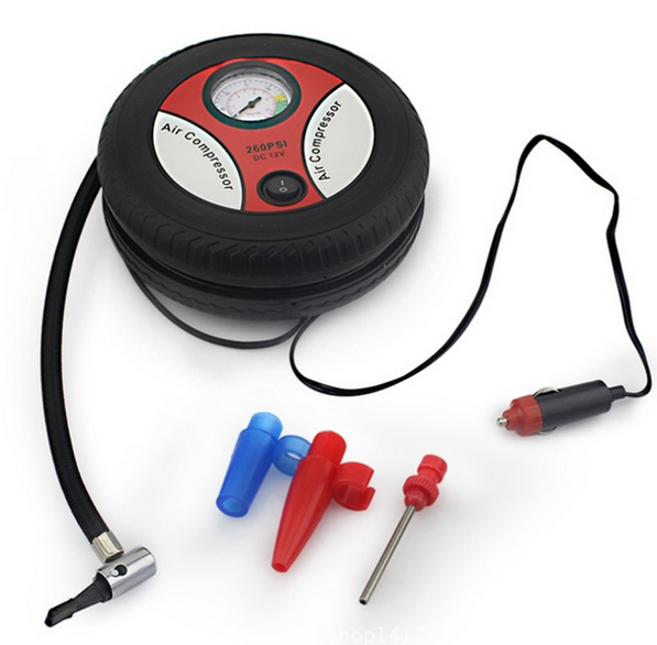 New Inflatable Car Air Pump Mini Portable Auto Air Compressor Electric Tyre Tire Inflator Vehicle Auto Pumps 12V