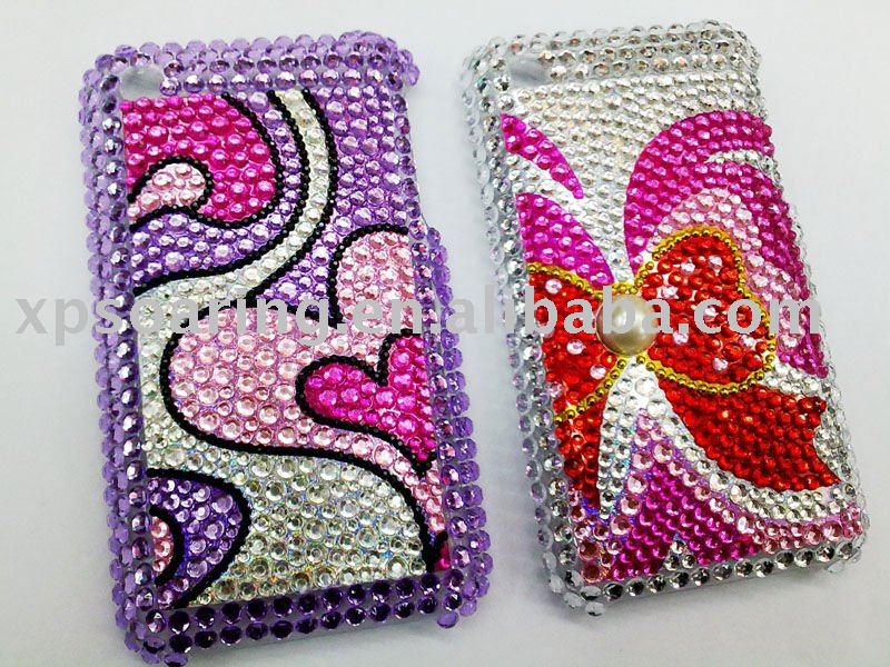 Diamond Rhinestone diamond hard case back cover for iphone 3G,3GS