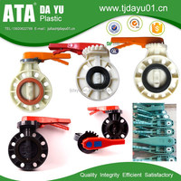 plastic water pipe manual price butterfly valve pvc valve good for swimming pool use