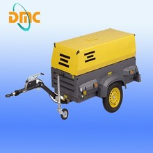13bar Diesel Portable Screw Air Compressor For Drilling Rig