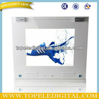 17inch waterproof IP65 outdoor network advertising player for gas station display