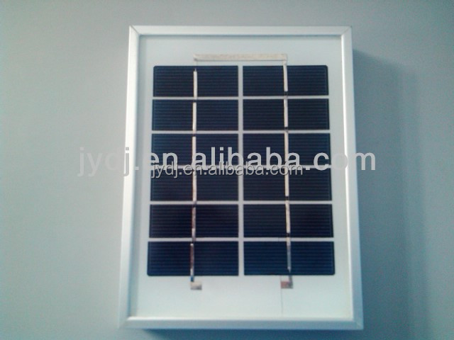 High Quality portable low price 6 volt mini solar panel with TUV MCS