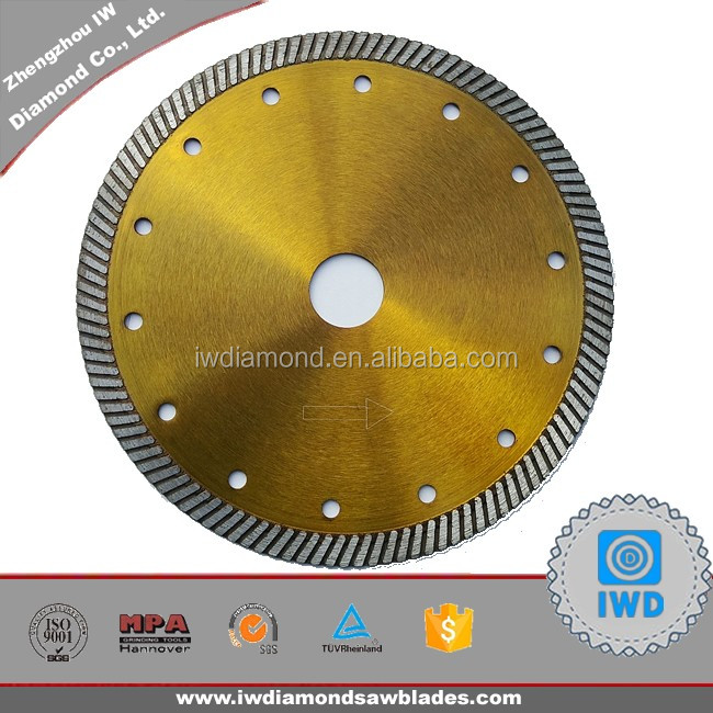 Great dry cut diamond blade /marble saw blade for cutting tile, marble, granite and other stonework