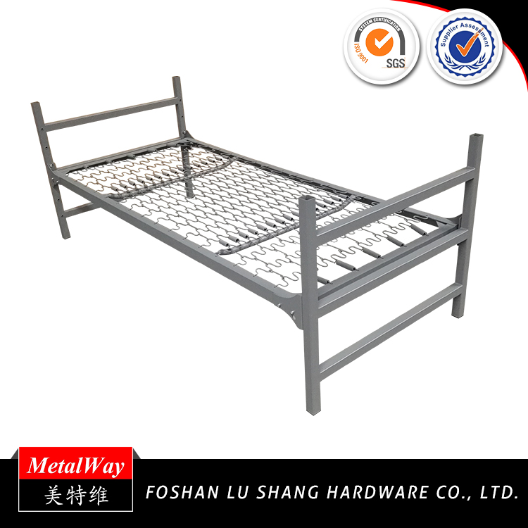 Best price prison metal spring single bed