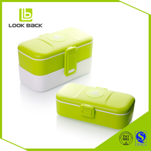 BPA Free Reusable Plastic Bento Lunch Box