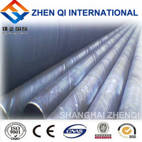 Hot dipped helical welded steel pipe from shanghai steel factory
