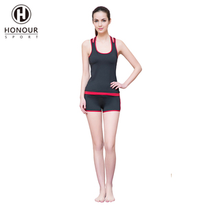 High Quality Private Label Summer Running Sets Women Bras and Leggings Sport Suit