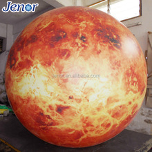 Gaint Solar System Planet Inflatable Venus Ball for Advertising