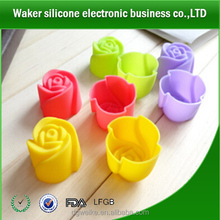 2014 Hot Sale Silicone Rose Cake Mold Silicon Bakeware Silicone Mould For Cake