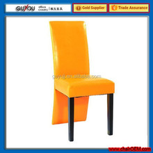 Y 5986 Wooden Frame PU Leather Tables and Dining Chairs For Restaurant
