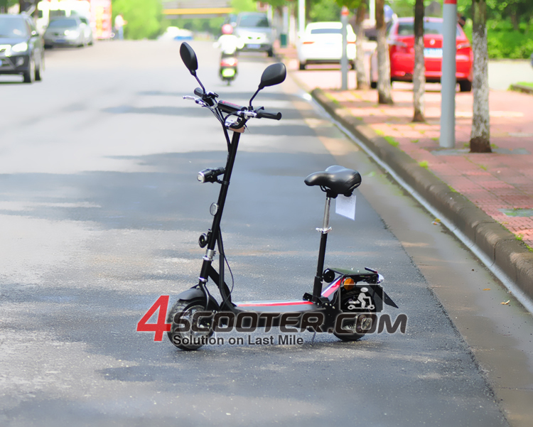 hot sell Easy detachable seat carbon electric scooter price china
