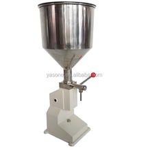 Manual Liquid Filling Machine (5~50ml) for Cream or Shampoo or Cosmetic