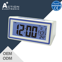 Fast Production Clearance Price Led Digital Table Clock Display
