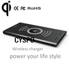 Height adjustable slim design high efficiency wireless charging pad qi wireless magnetic induction chargerss wireless