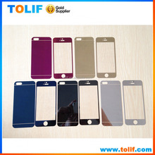 For iphone 4/4s/5/5c/5s/6/6s/plus mirror screen protector , for iphone 4/4s/5/5c/5s/6/6s/plus mirror tempered glass