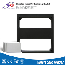 High quality Long distance wireless nfc 125Khz rfid proxinity smart card reader machine