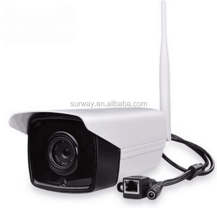 720P wireless 2 array IR HD cameras ip outdoor Security CCTV System,4CH Wireless NVR Kit with 300m transmission distance